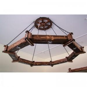 Светильник декор. восьмигранный