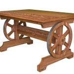 Стол э0201-02 под старину, палисандр