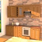 Кухня в 3D